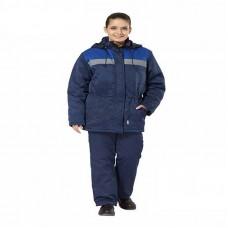 Костюм рабочий утепленный «Стандарт» СОП женский синий-василек