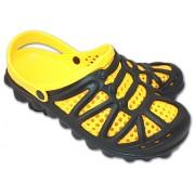 Пантолеты Комби Стэп Открытый Черно-Желтый