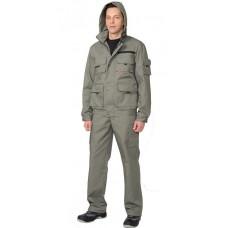 """Костюм """"Байкал - олива"""" куртка, брюки"""