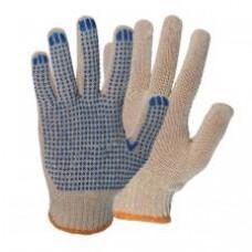 Перчатки х/б с ПВХ 4-х нитка 10 кл.