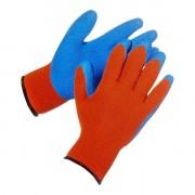 Перчатки зимние акриловые с рельефным покрытием
