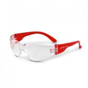 Очки защитные открытые О15 HAMMER ACTIVE super(2c-1,2PC)  прозрачные c  мягким носоупором Арт. 11530-5