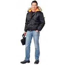 """Куртка """"АЛЯСКА"""" черная укороченная"""